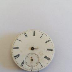 Relógios de bolso: MAQUINA Y ESFERA RELOJ DE BOLSILLO ANTIGUO. Lote 275529833
