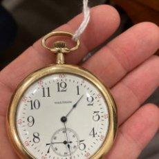 Relojes de bolsillo: RELOJ DE BOLSILLO WALTMAN ORO DE 14 KLTS. Lote 275555823