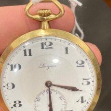 Relojes de bolsillo: RELOJ DE BOLSILLO ORO DE 18 KLTS, LONGINES. Lote 275559093