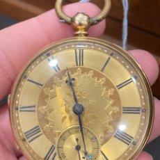 Relojes de bolsillo: SEMICATALINO DE ORO DE 18 KLTS. Lote 275559673