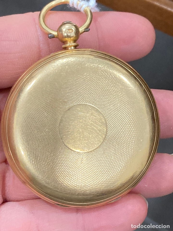 Relojes de bolsillo: Magnifico reloj de bolsillo oro de 18 klts relojero Jonh bennet, relojero real - Foto 3 - 275560418