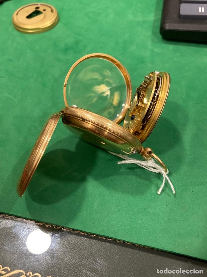 Relojes de bolsillo: Magnifico reloj de bolsillo oro de 18 klts relojero Jonh bennet, relojero real - Foto 4 - 275560418