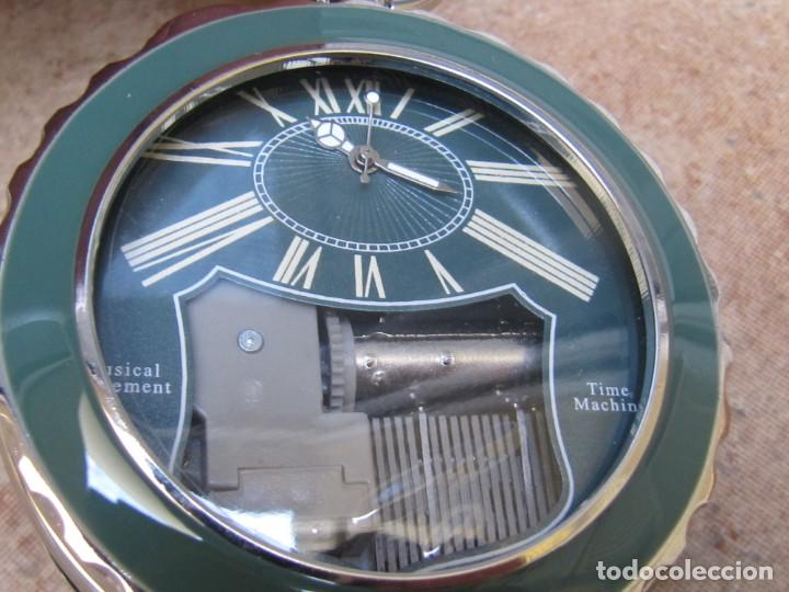 Relojes de bolsillo: RELOJ DE BOLSILLO DE CUARZO CON SONERIA MUSICAL CON SISTEMA DE CUERDA MECANICA - Foto 3 - 275795903