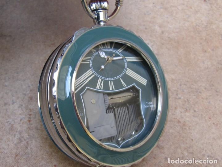 Relojes de bolsillo: RELOJ DE BOLSILLO DE CUARZO CON SONERIA MUSICAL CON SISTEMA DE CUERDA MECANICA - Foto 4 - 275795903