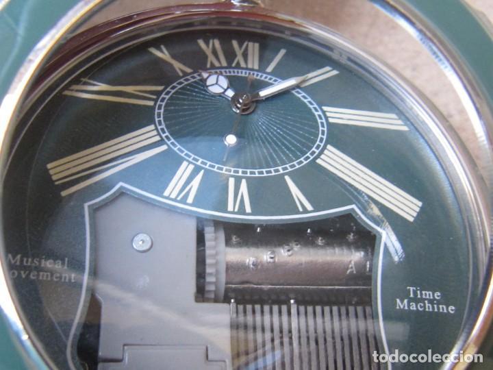 Relojes de bolsillo: RELOJ DE BOLSILLO DE CUARZO CON SONERIA MUSICAL CON SISTEMA DE CUERDA MECANICA - Foto 8 - 275795903