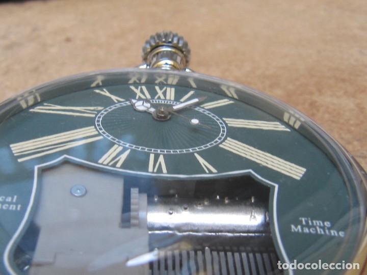 Relojes de bolsillo: RELOJ DE BOLSILLO DE CUARZO CON SONERIA MUSICAL CON SISTEMA DE CUERDA MECANICA - Foto 10 - 275795903