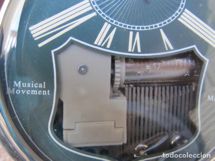 Relojes de bolsillo: RELOJ DE BOLSILLO DE CUARZO CON SONERIA MUSICAL CON SISTEMA DE CUERDA MECANICA - Foto 15 - 275795903