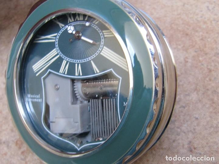 Relojes de bolsillo: RELOJ DE BOLSILLO DE CUARZO CON SONERIA MUSICAL CON SISTEMA DE CUERDA MECANICA - Foto 18 - 275795903