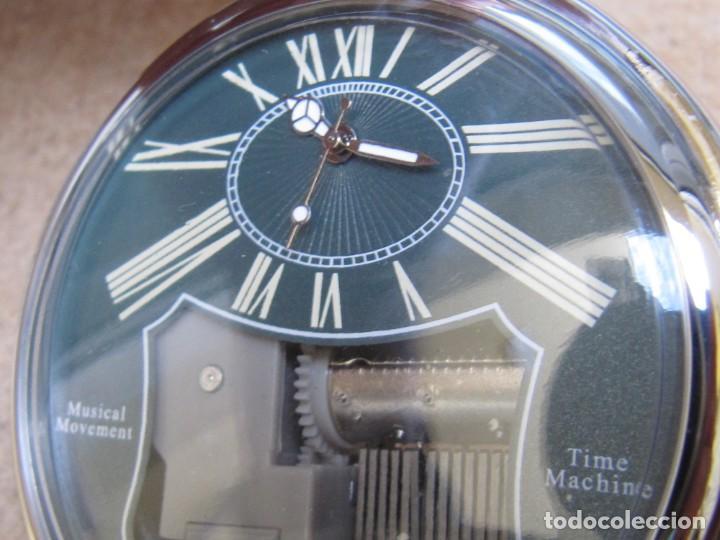 Relojes de bolsillo: RELOJ DE BOLSILLO DE CUARZO CON SONERIA MUSICAL CON SISTEMA DE CUERDA MECANICA - Foto 21 - 275795903