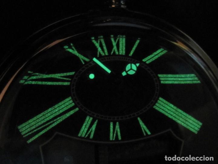 Relojes de bolsillo: RELOJ DE BOLSILLO DE CUARZO CON SONERIA MUSICAL CON SISTEMA DE CUERDA MECANICA - Foto 23 - 275795903