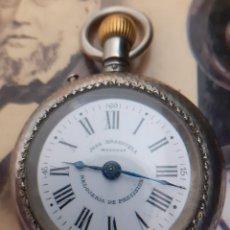 Relógios de bolso: RELOJ DE BOLSILLO ROSKOPF DE LA ANTIGÜA RELOJERIA JUAN BRANSUELA DE MANRESA 52MM. Lote 276003353