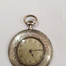 Relógios de bolso: JOY-1675. RELOJ DE BOLSILLO CON CAJA DE PLATA. PRINCIPIOS S.XX.. Lote 276499453