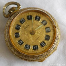 Relojes de bolsillo: RELOJ DE BOLSILLO ROCAR, MECANISMO BREVET PARA REPARAR. Lote 276546798