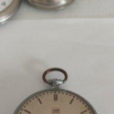 Relógios de bolso: RARO RELOJ DE BOLSILLO CON SEGUNDERO DIGITAL Y CALENDARIO. Lote 276623623
