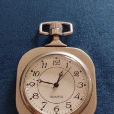 Relojes de bolsillo: RELOJ BOLSILLO CUARZO. Lote 276645888