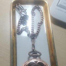 Relojes de bolsillo: BOLSILLO AUTOMATICO COBRE. Lote 276788458
