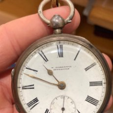 Relojes de bolsillo: MAGNIFICO SEMICATALINO DE PLATA. Lote 276807913