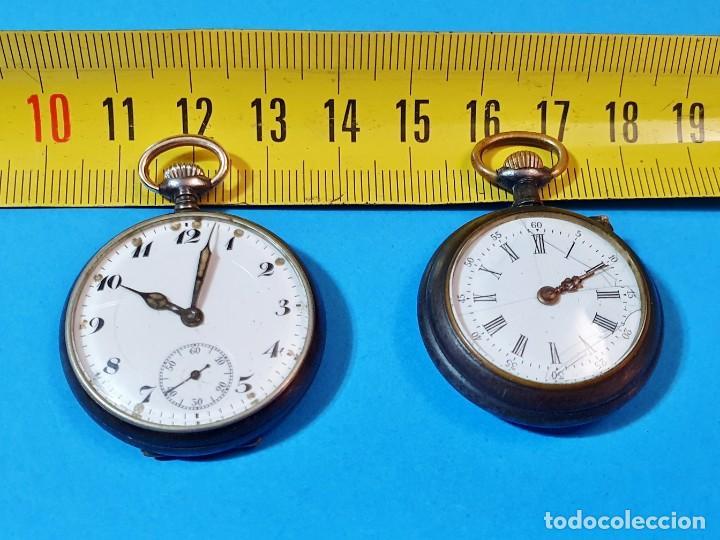 Relojes de bolsillo: RELOJES DE BOLSILLO - DOS DE MUJER - Foto 14 - 276905413