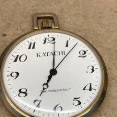 Relojes de bolsillo: RELOJ DE BOLSILLO KATACHI CARGA MANUAL. Lote 276941808