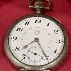 Relojes de bolsillo: ANTIGUO RELOJ DE BOLSILLO, EN PLATA DE LEY, DOLLAR. PPS.S.XX. Lote 277142523