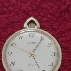 Relojes de bolsillo: RELOJ ZENTRA DE BOLSILLO. Lote 277161098