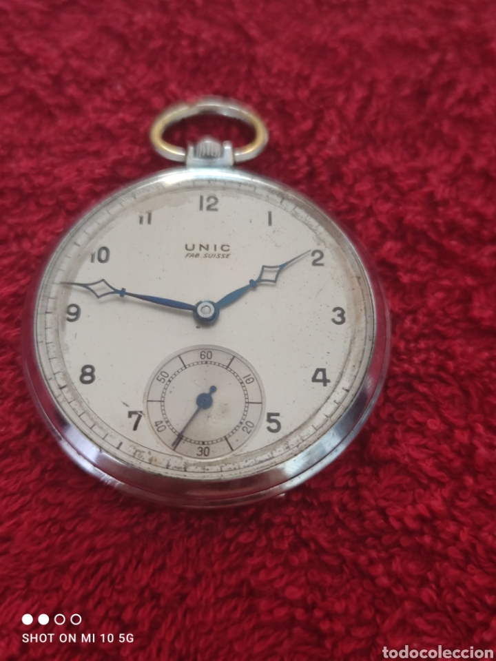 RELOJ DE BOLSILLO UNIC (Relojes - Bolsillo Carga Manual)