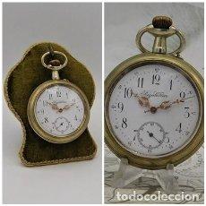 Relojes de bolsillo: REGULATEUR-PRECIOSO Y GRAN RELOJ DE BOLSILLO-CIRCA 1900-FUNCIONANDO. Lote 277278103