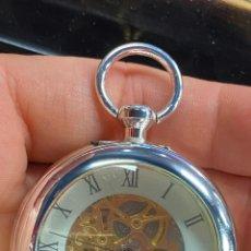 Relojes de bolsillo: RELOJ DE BOLSILLO DE COLECCION FUNCIONANDO CORRECTAMENTE A CUERDA. Lote 277608228