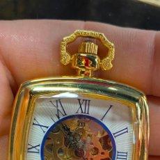 Relojes de bolsillo: RELOJ DE BOLSILLO DE COLECCION FUNCIONANDO CORRECTAMENTE A CUERDA. Lote 277609668