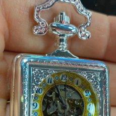Relojes de bolsillo: RELOJ DE BOLSILLO DE COLECCION FUNCIONANDO CORRECTAMENTE A CUERDA. Lote 277615258