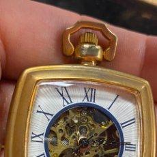 Relojes de bolsillo: RELOJ DE BOLSILLO DE COLECCION FUNCIONANDO CORRECTAMENTE A CUERDA. Lote 277615398