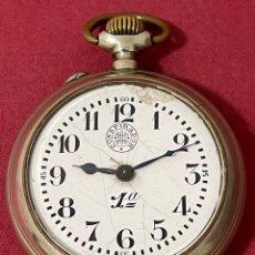 Relojes de bolsillo: ANTIGUO RELOJ DE BOLSILLO, DE GRAN TAMAÑO, CONSPIRADOR, CONQUISTADOR. FUNCIONANDO. Lote 278212353