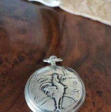 Relojes de bolsillo: RELOJ DE BOLSILLO ZENITH ESPIRAL BREGUET MUY DETALLADO RARISIMO UNICO!!! BUEN TAMAÑO FUNCIONA MIRA!!. Lote 279560058