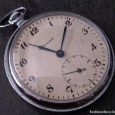 Relojes de bolsillo: ANTIGUO RELOJ DE BOLSILLO RUSO DE LA MARCA MOLNIJA DE LOS AÑOS 60. Lote 283513618