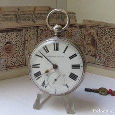 Relógios de bolso: SEMI CATALINO INGLÉS 1872 CAJA DE PLATA. Lote 283680608