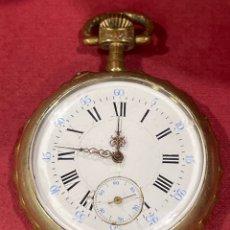 Relojes de bolsillo: PRECIOSO RELOJ DE BOLSILLO ANTIGUO. FINALES S.XIX. FUNCIONANDO. Lote 283925503