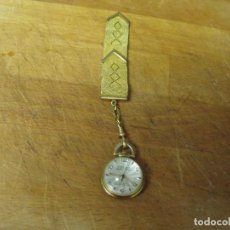 Relojes de bolsillo: ANTIGUO RELOJ BOLSILLO-OSCAR-SUIZA- AÑO 1920-CON AUMENTOS-LEONTINA EPOCA-LOTE 259-33. Lote 284527388