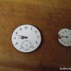 Relojes de bolsillo: 2 MAQUINARIAS PARA PIEZAS-LOTE 259-33. Lote 284527908