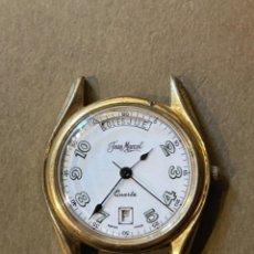 Relojes de bolsillo: RELOJ JEAN MARCEL CON CALENDARIO 3,5 CMS. ESFERA (T1) W. Lote 286640518