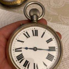 Relojes de bolsillo: MAGNIFICO RELOJ DE BOLSILLO TIPO GOLIAT, FUNCIONANDO. Lote 287795958