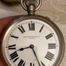 Relojes de bolsillo: MAGNIFICO RELOJ DE BOLSILLO TIPO GOLIAT, FUNCIONANDO. Lote 287796003