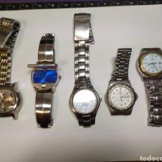 Relojes de bolsillo: LOTE 5 RELOJES ANDROID,FESTINA.. Lote 287901003