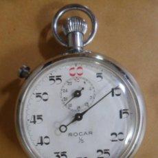 Relógios de bolso: CRONOMETRO MECANICO MARCA ROCAR ** PARA REPARAR O PIEZAS. Lote 287974428