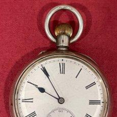 Relógios de bolso: ANTIGUO RELOJ DE BOLSILLO, DE PLATA, OMNIUM. S.XIX. Lote 288159328