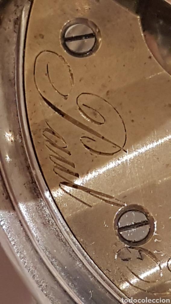 Relojes de bolsillo: RELOJ DE BOLSILLO DE PLATA PAUL BERTOL FLEURIER CON 3 TAPAS ESCAPE ANCORA 15 RUBIS FINALES SIGLO XIX - Foto 8 - 288578293