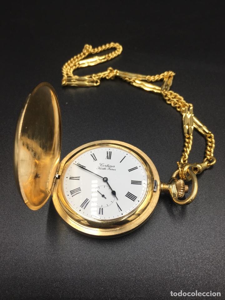 Relojes de bolsillo: ANTIGUO RELOJ DE BOLSILLO CERTINA - Foto 7 - 288583103