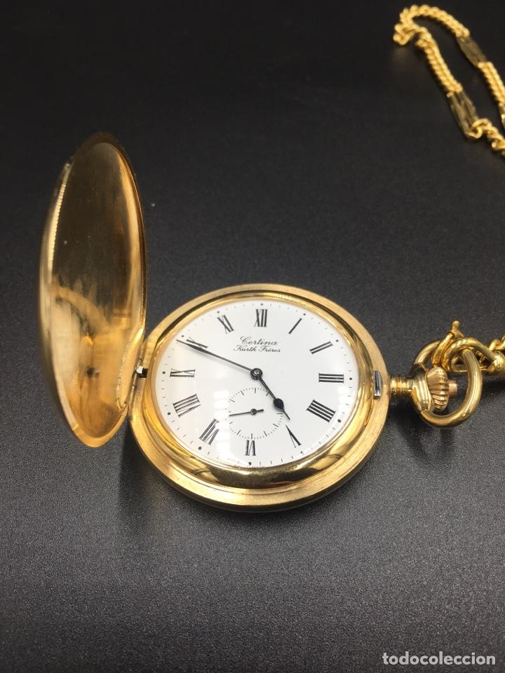 ANTIGUO RELOJ DE BOLSILLO CERTINA (Relojes - Bolsillo Carga Manual)