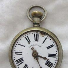 Relógios de bolso: RELOJ DE BOLSILLO ANTIGUO ROSKOPF PROTOTIPO DE LOS PRIMEROS. Lote 288662998