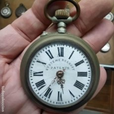 Relojes de bolsillo: RELOJ DE BOLSILLO - SYSTEME ROSSKOPF PATENTE - SWISS MADE - BUENA FUNCIONA? DIAMETRO DE 52 MM. Lote 292171913