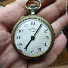 Relojes de bolsillo: ANTIGUO RELOJ DE BOLSILLO - ROSSKOPF LEWA SWISS MADE? - NO FUNCIONA - DIAMETRO DE 44 MM. Lote 292228108